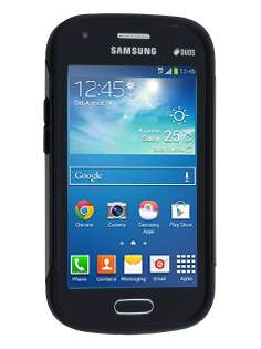 Impact Case for Samsung Galaxy Trend Plus S7583T/S Duos S7562 - Classic Black