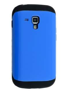 Impact Case for Samsung Galaxy Trend Plus S7583T/S Duos S7562 - Blue/Black Impact Case