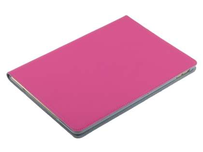 Premium Genuine Leather Portfolio Case with Stand for iPad Air 2 - Pink