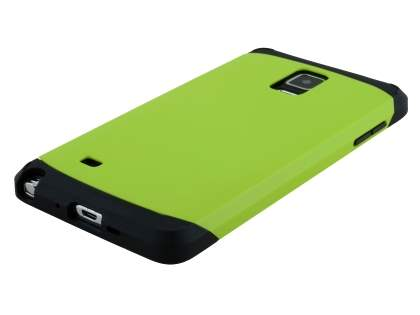 Samsung Galaxy Note 4 Impact Case - Green/Black