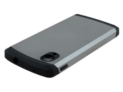 Impact Case for LG Google Nexus 5 - Light Grey/Black