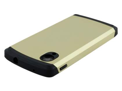 LG Google Nexus 5 Impact Case - Gold/Black