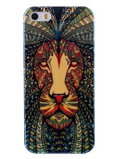 Pattern TPU Case for iPhone SE/5s/5 - Soft Cover