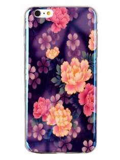 iPhone 6s Plus / 6 Plus Blue Luster Pattern TPU Case