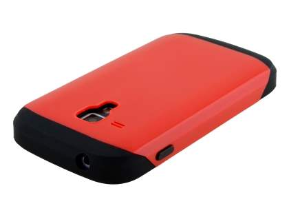Impact Case for Samsung Galaxy Trend Plus S7583T/S Duos S7562 - Red/Black
