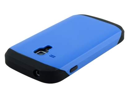 Impact Case for Samsung Galaxy Trend Plus S7583T/S Duos S7562 - Blue/Black