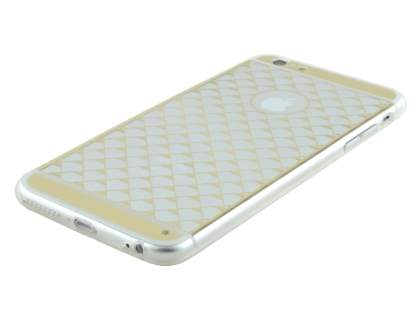 Pattern TPU Case for iPhone 6s/6 - Gold/Clear