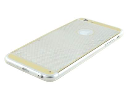 Pattern TPU Case for iPhone 6s/6 4.7 inches - Gold/Clear