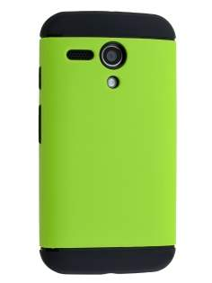 Impact Case for Motorola Moto G - Green/Black Impact Case