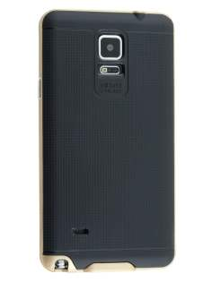 Samsung Galaxy Note 4 Textured Impact Case - Gold/Black