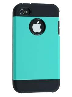 Impact Case for iPhone 4/4S - Mint/Black Impact Case