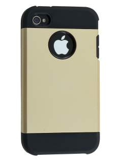 Impact Case for iPhone 4/4S - Gold/Black Impact Case