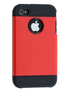 Impact Case for iPhone 4/4S - Red/Black Impact Case