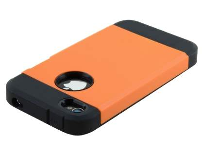 Apple iPhone 4/4S Impact Case - Orange/Black