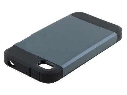 Apple iPhone 4/4S Impact Case - Midnight Blue/Black