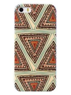 Pattern TPU Case for iPhone 4/4S - Soft Cover