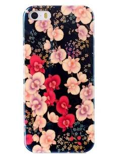iPhone 4/4S Blue Luster Pattern TPU Case