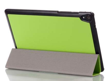Premium Slim Synthetic Leather Flip Case with Stand for HTC Nexus 9 - Green Leather Flip Case