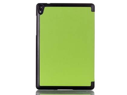 Premium Slim Synthetic Leather Flip Case with Stand for HTC Nexus 9 - Green