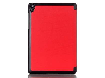 Premium Slim Synthetic Leather Flip Case with Stand for HTC Nexus 9 - Red