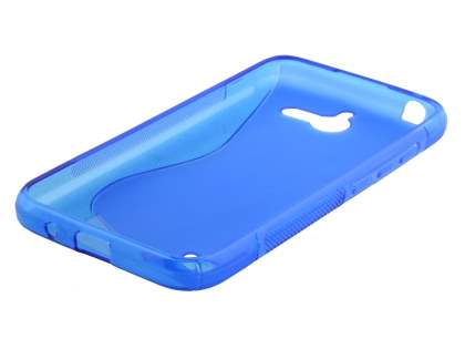 Wave Case for Huawei Ascend Y550 - Frosted Blue/Blue