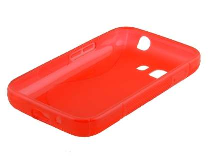 Samsung Galaxy Young 2 Wave Case - Frosted Red/Red