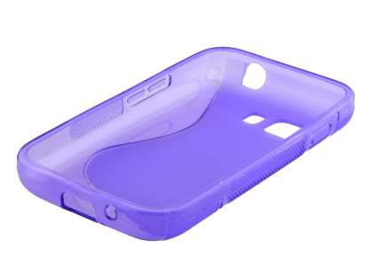 Samsung Galaxy Young 2 Wave Case - Frosted Purple/Purple