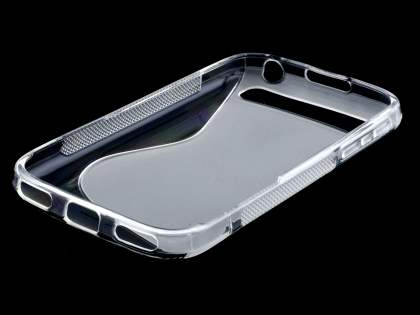 BlackBerry Classic Q20 Wave Case - Frosted Clear/Clear