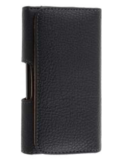 Textured Synthetic Leather Belt Pouch for Telstra Dave ZTE T83 - Belt Pouch