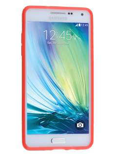 Samsung Galaxy A5 (2014) Wave Case - Frosted Red/Red