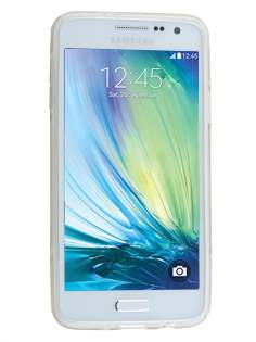 Samsung Galaxy A3 A300F Wave Case - Frosted Clear/Clear