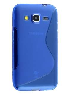 Samsung Core Prime Wave Case - Frosted Blue/Blue