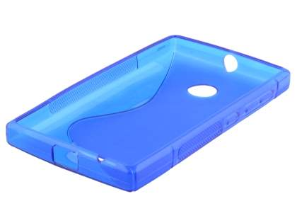 Wave Case for Nokia Lumia 435/532 - Frosted Blue/Blue