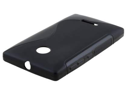 Wave Case for Nokia Lumia 435/532 - Frosted Black/Black