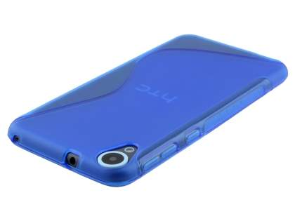 Wave Case for HTC Desire 820 - Frosted Blue/Blue