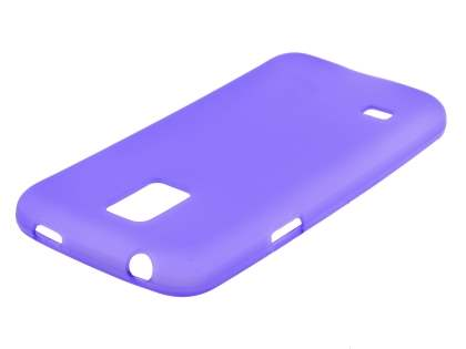 Samsung Galaxy S5 mini Frosted TPU Case - Purple