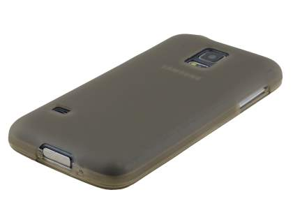 Samsung Galaxy S5 mini Frosted TPU Case - Grey