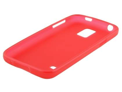 Samsung Galaxy S5 mini Frosted TPU Case - Red