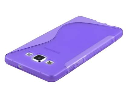 Wave Case for Samsung Galaxy A3 A300F - Frosted Purple/Purple