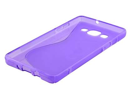 Samsung Galaxy A5 Wave Case - Frosted Purple/Purple