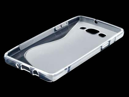 Wave Case for Samsung Galaxy A5 (2014) - Frosted Clear/Clear