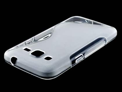 Samsung Core Prime Wave Case - Frosted Clear/Clear