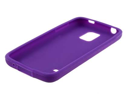 Silicone Case for Samsung Galaxy S5 mini - Purple