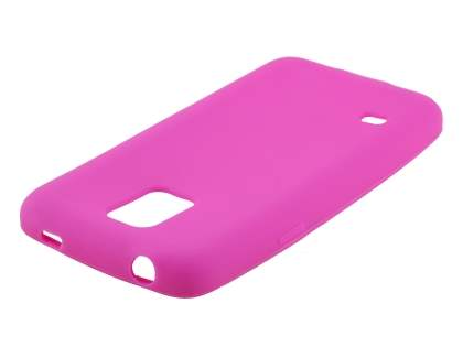 Silicone Case for Samsung Galaxy S5 mini - Pink