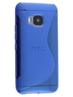 Wave Case for HTC One M9 - Frosted Blue/Blue