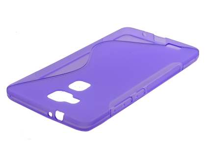 Wave Case for Huawei Ascend Mate7 - Frosted Purple/Purple