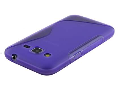 Wave Case for Samsung Core Prime - Frosted Purple/Purple