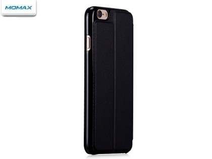 Momax Flip View Case for iPhone 6s/6 - Night Black