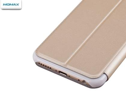 Momax Flip View Case for iPhone 6s/6 4.7 inches - Gold