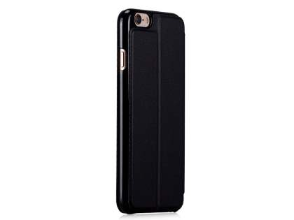 Momax Flip View Case for iPhone 6s Plus / 6 Plus - Night Black